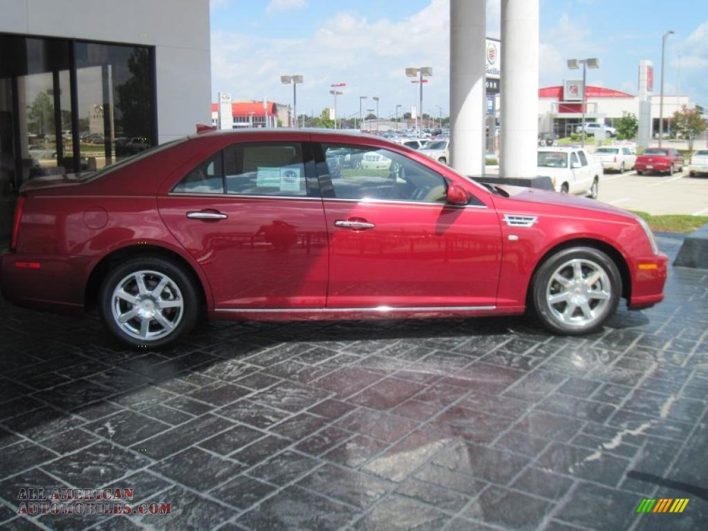 2011 cadillac sts v6 sport in crystal red tintcoat photo 4 112627 all american automobiles. Black Bedroom Furniture Sets. Home Design Ideas