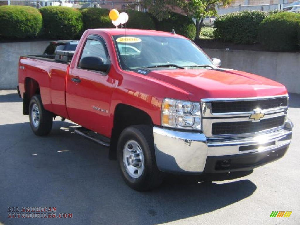 2008 Chevrolet Silverado 2500HD Work Truck Regular Cab 4x4 ...