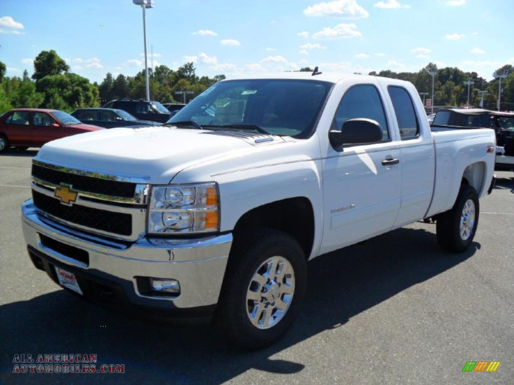 2011 chevrolet silverado 2500hd lt extended cab 4x4 in summit white 116330 all american. Black Bedroom Furniture Sets. Home Design Ideas