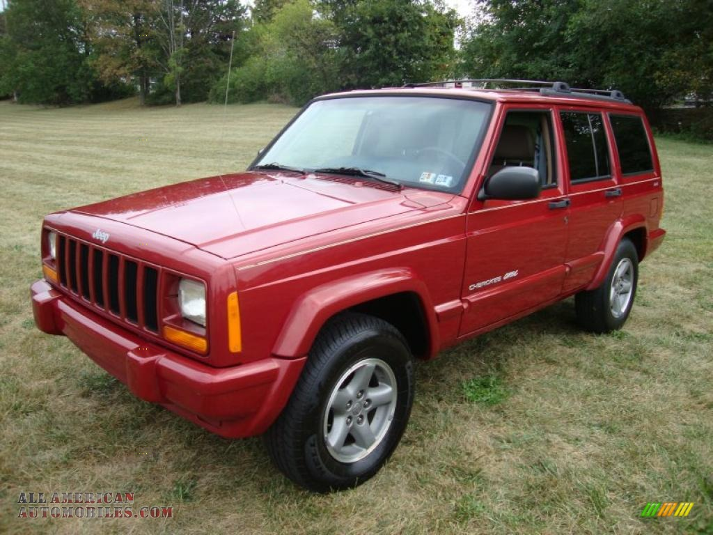 1999 Jeep Cherokee Classic 4x4 In Chili Pepper Red Pearl