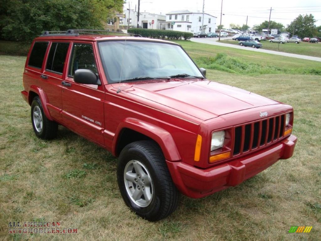 Ron Lewis Chrysler Dodge Jeep Ram Fiat Cranberry >> 1999 Jeep Cherokee Classic 4x4 in Chili Pepper Red Pearl photo #4 - 542620 | All American ...