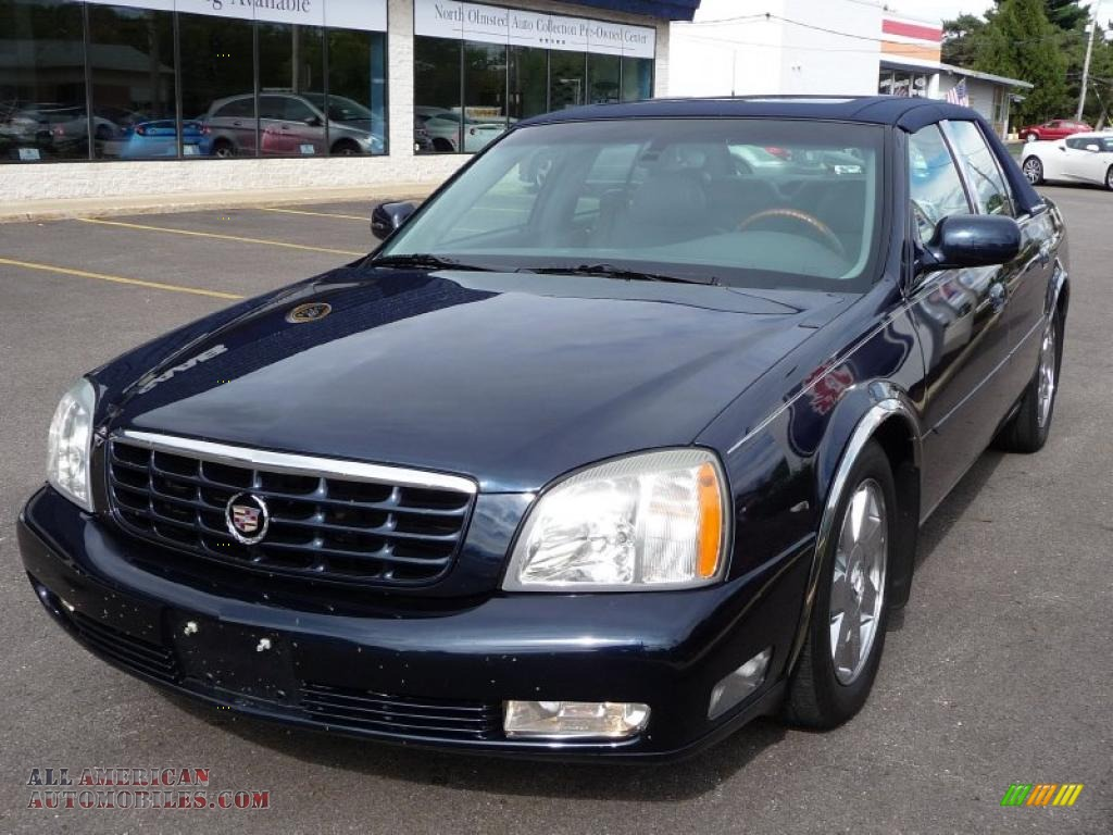 2003 cadillac deville dts in blue onyx photo 3 135690 all american autom. Cars Review. Best American Auto & Cars Review