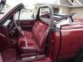 Dodge Dakota Sport Regular Cab 4x4 Custom Convertible Truck Red photo #5