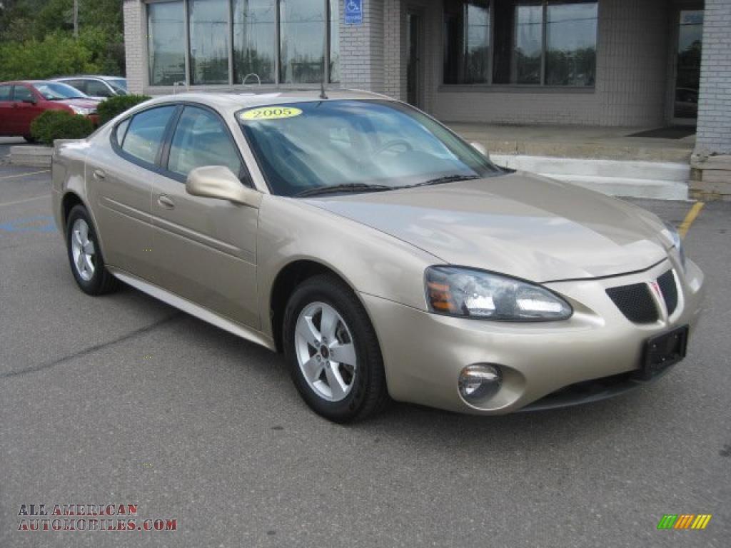 2005 pontiac grand prix gt sedan in sedona beige metallic 145818 all american automobiles. Black Bedroom Furniture Sets. Home Design Ideas