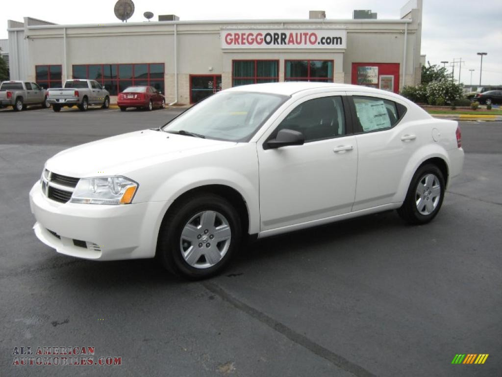 2010 dodge avenger sxt in stone white 212157 all. Black Bedroom Furniture Sets. Home Design Ideas