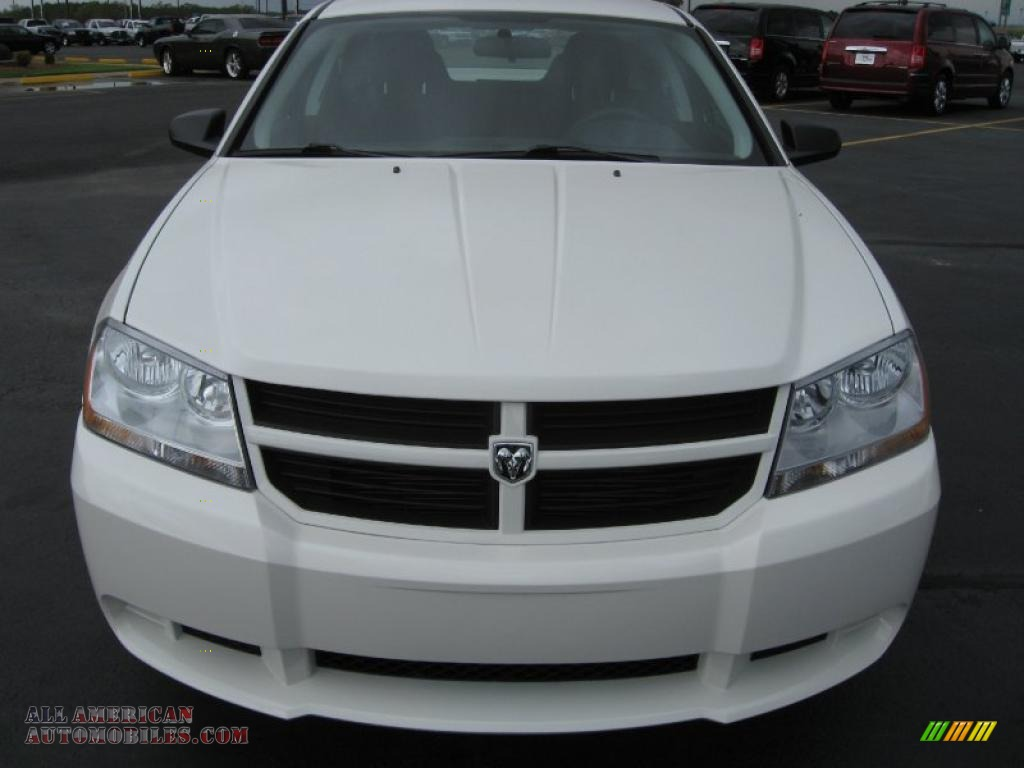 2010 dodge avenger sxt in stone white photo 2 212157. Black Bedroom Furniture Sets. Home Design Ideas