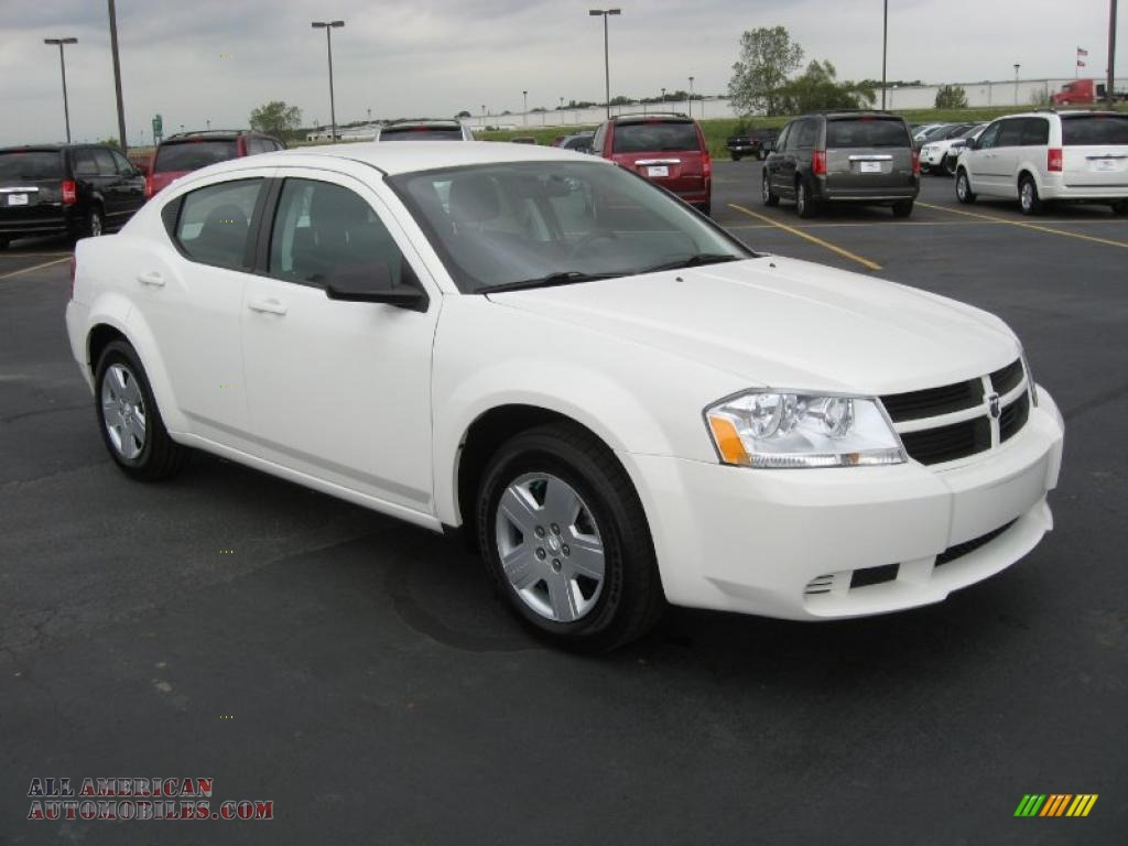 2010 dodge avenger sxt in stone white photo 3 212157. Black Bedroom Furniture Sets. Home Design Ideas