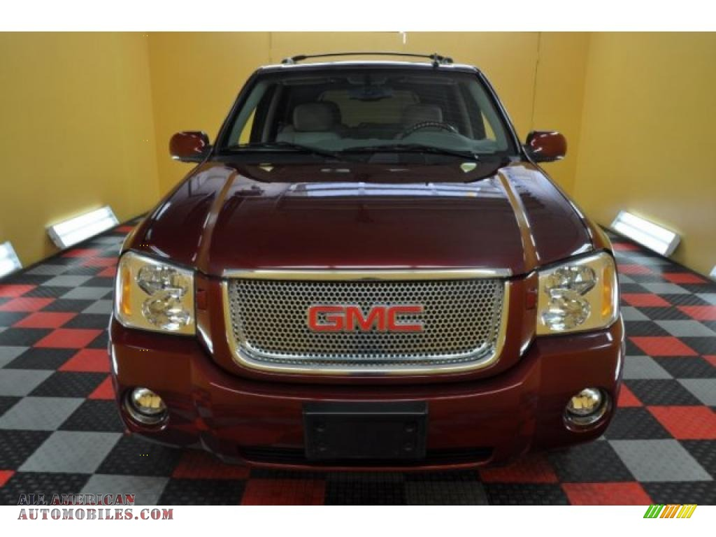 2007 gmc envoy denali 4x4 in red jewel photo 2 171431. Black Bedroom Furniture Sets. Home Design Ideas