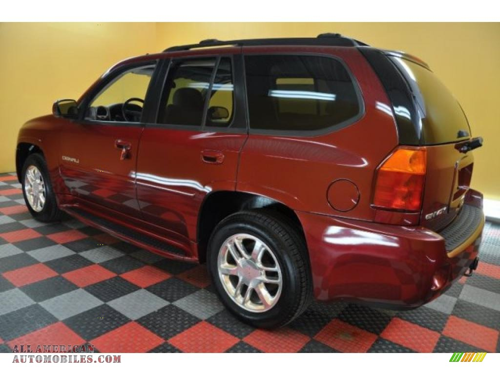 2007 gmc envoy denali 4x4 in red jewel photo 4 171431. Black Bedroom Furniture Sets. Home Design Ideas