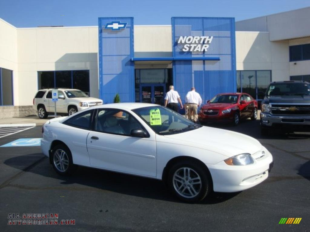 2005 Silverado For Sale >> 2005 Chevrolet Cavalier Coupe in Summit White - 158622 | All American Automobiles - Buy American ...