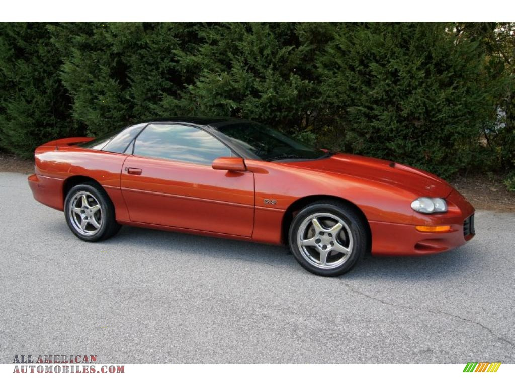 2002 chevrolet camaro z28 ss 35th anniversary edition coupe in sunset. Cars Review. Best American Auto & Cars Review