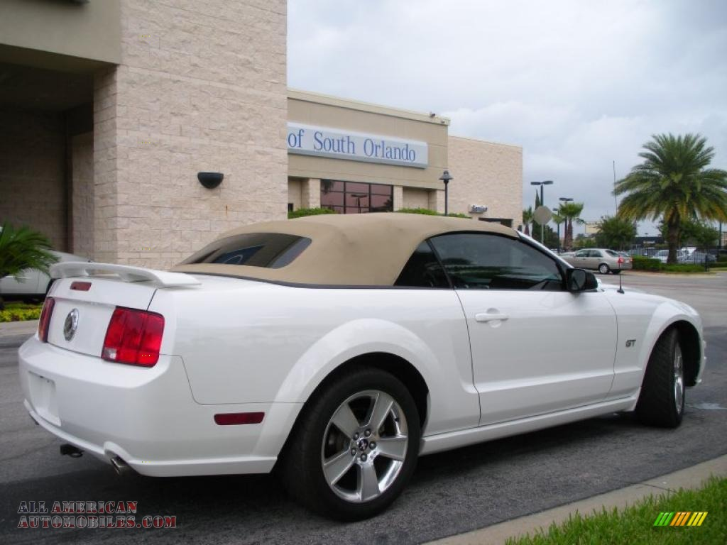 2007 Ford Mustang Gt Premium Convertible In Performance