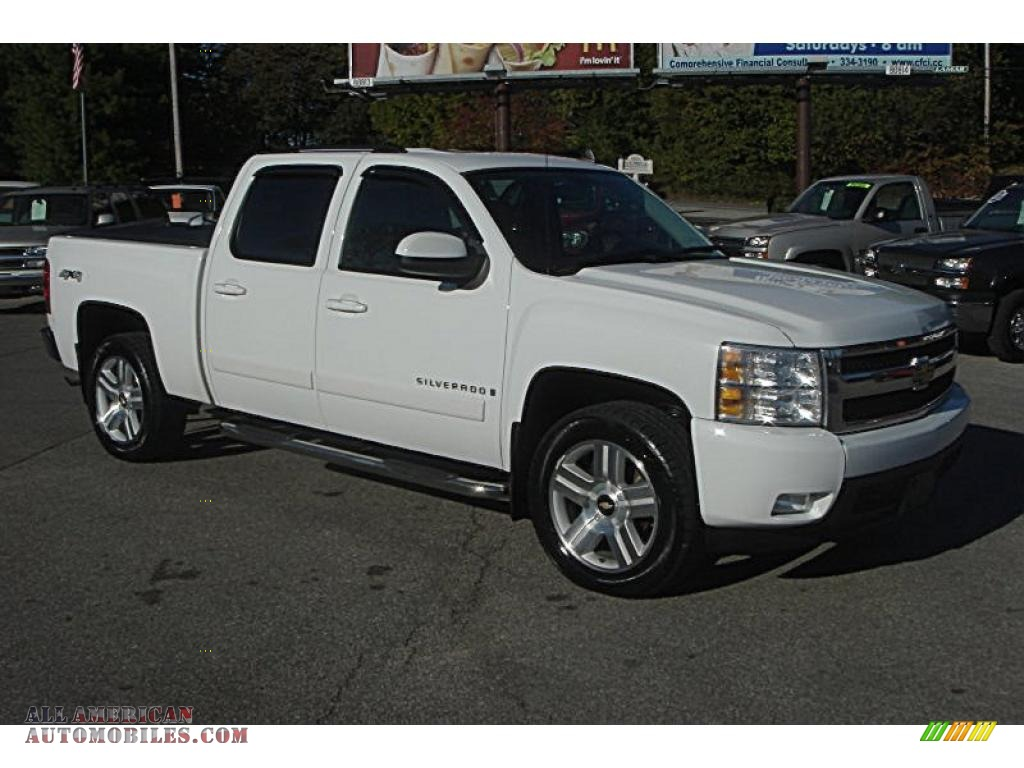 2007 chevrolet silverado 1500 ltz crew cab 4x4 in summit. Black Bedroom Furniture Sets. Home Design Ideas