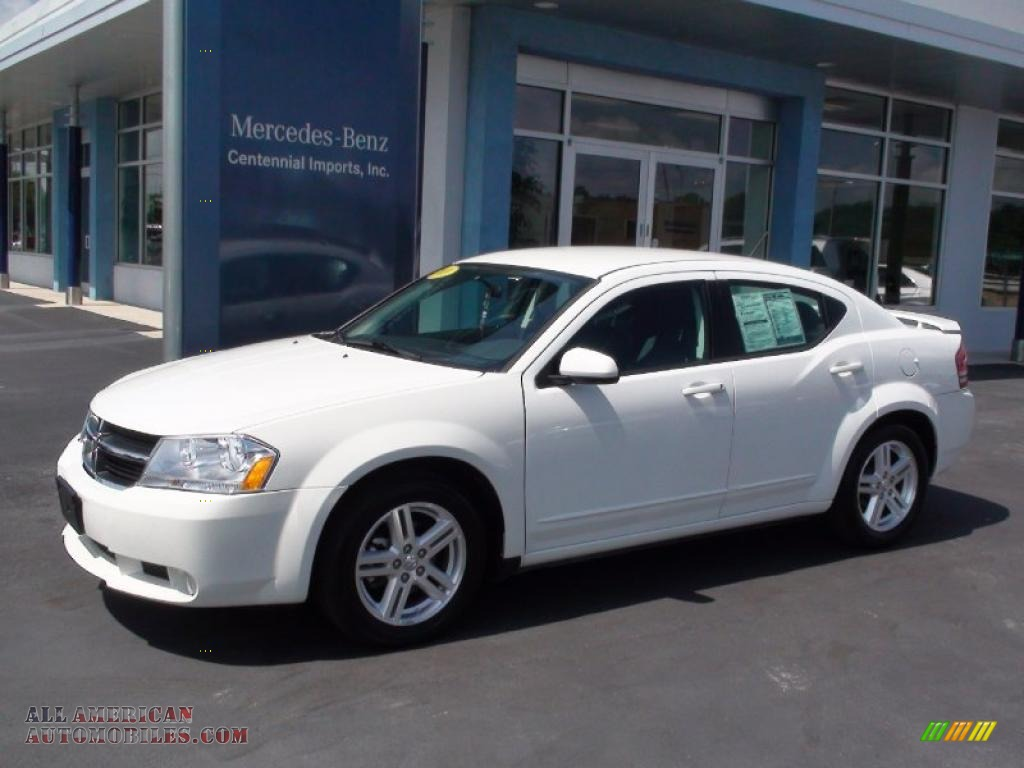 2010 dodge avenger r t in stone white photo 5 124088. Black Bedroom Furniture Sets. Home Design Ideas