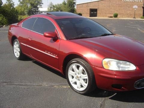 Ruby Red Pearlcoat 2001 Chrysler Sebring LXi Coupe