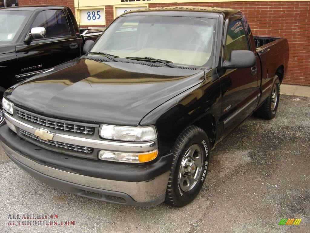 2000 chevrolet silverado 1500 regular cab in onyx black 219539 all. Cars Review. Best American Auto & Cars Review