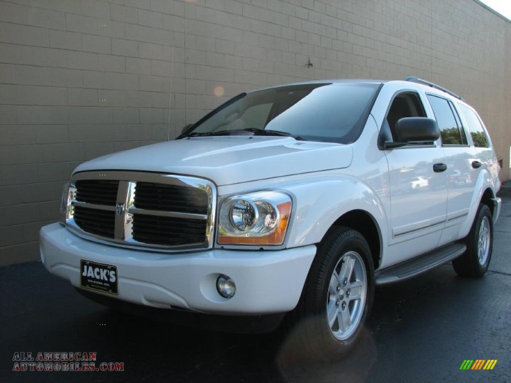 2006 Dodge Durango Limited In Bright White Photo 2 189659 All American Automobiles Buy