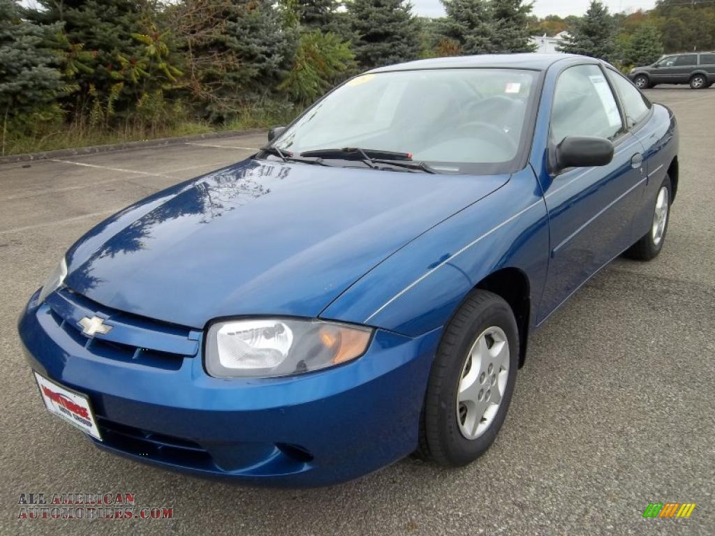 2005 chevrolet cavalier coupe in arrival blue metallic 149993 all american automobiles buy. Black Bedroom Furniture Sets. Home Design Ideas