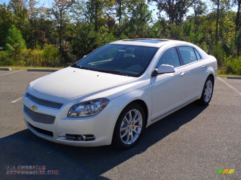 Ron Lewis Cranberry >> 2011 Chevrolet Malibu LTZ in White Diamond Tricoat - 176715 | All American Automobiles - Buy ...