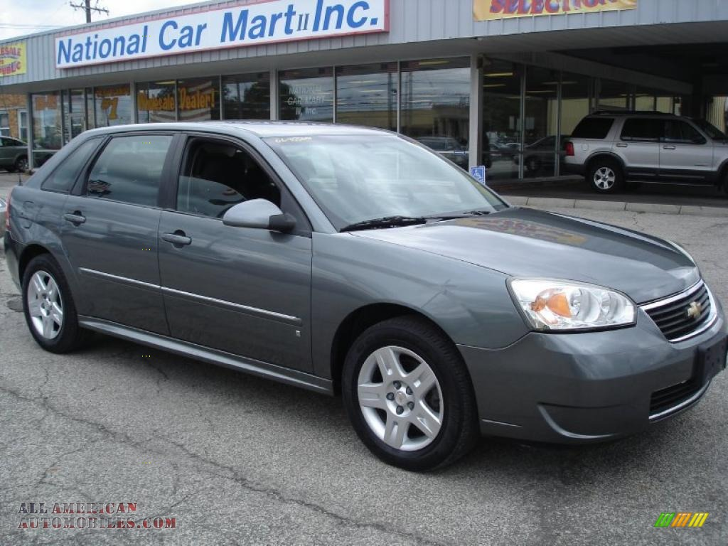 2006 chevrolet malibu maxx lt wagon in medium gray. Black Bedroom Furniture Sets. Home Design Ideas