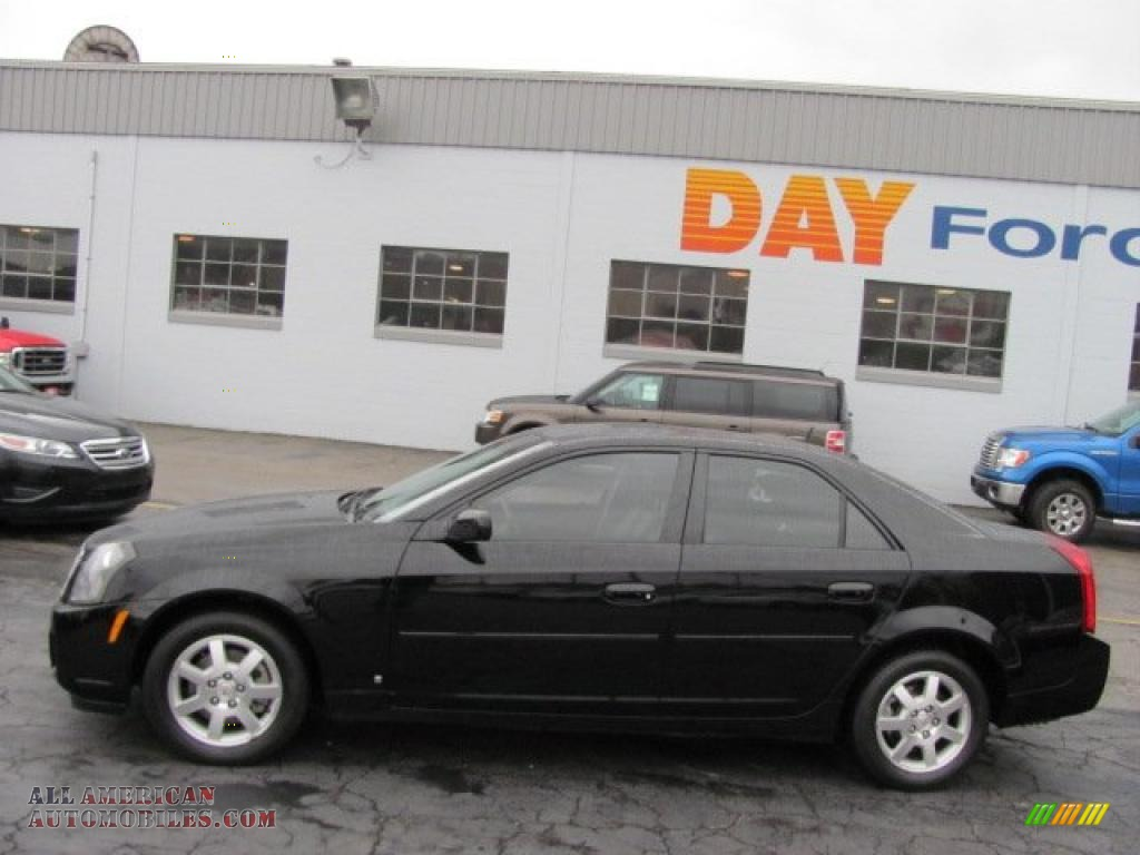 Day Ford Monroeville >> 2007 Cadillac CTS Sport Sedan in Black Raven photo #2 - 152311   All American Automobiles - Buy ...