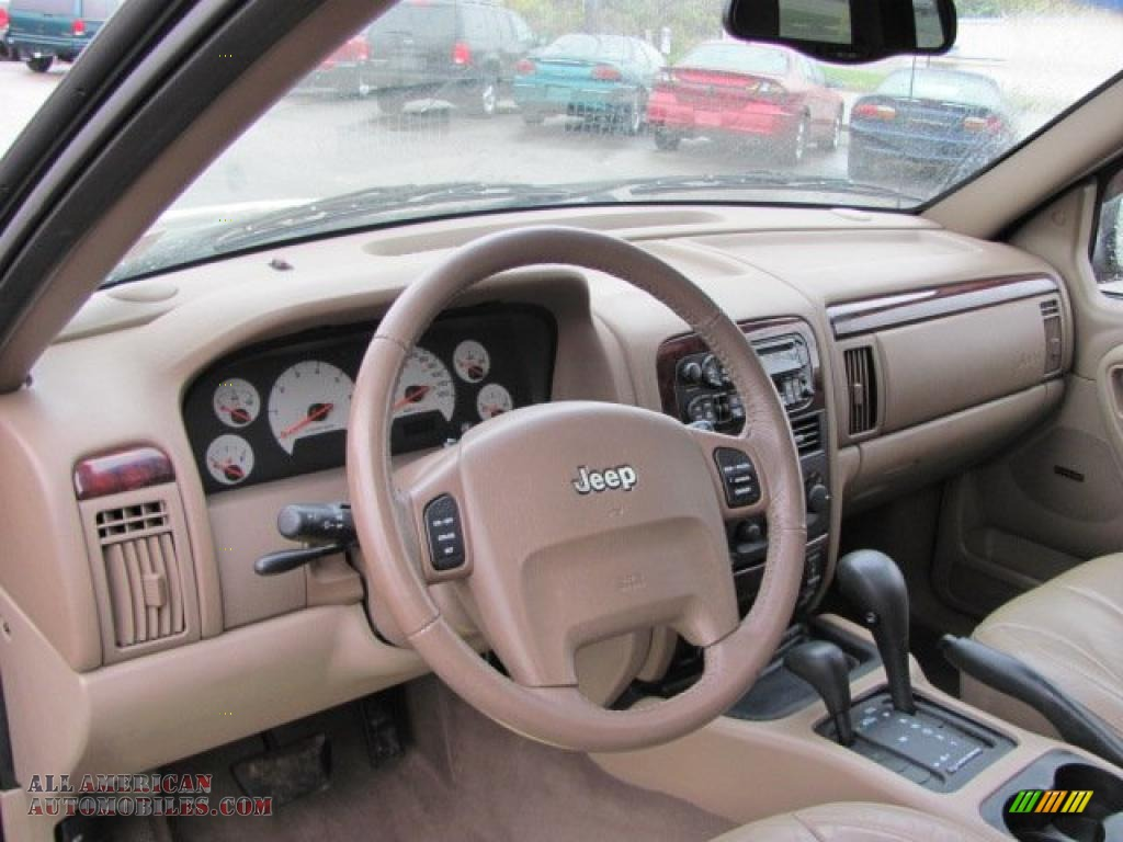 2001 Jeep Grand Cherokee Limited 4x4 in Champagne Pearl ...
