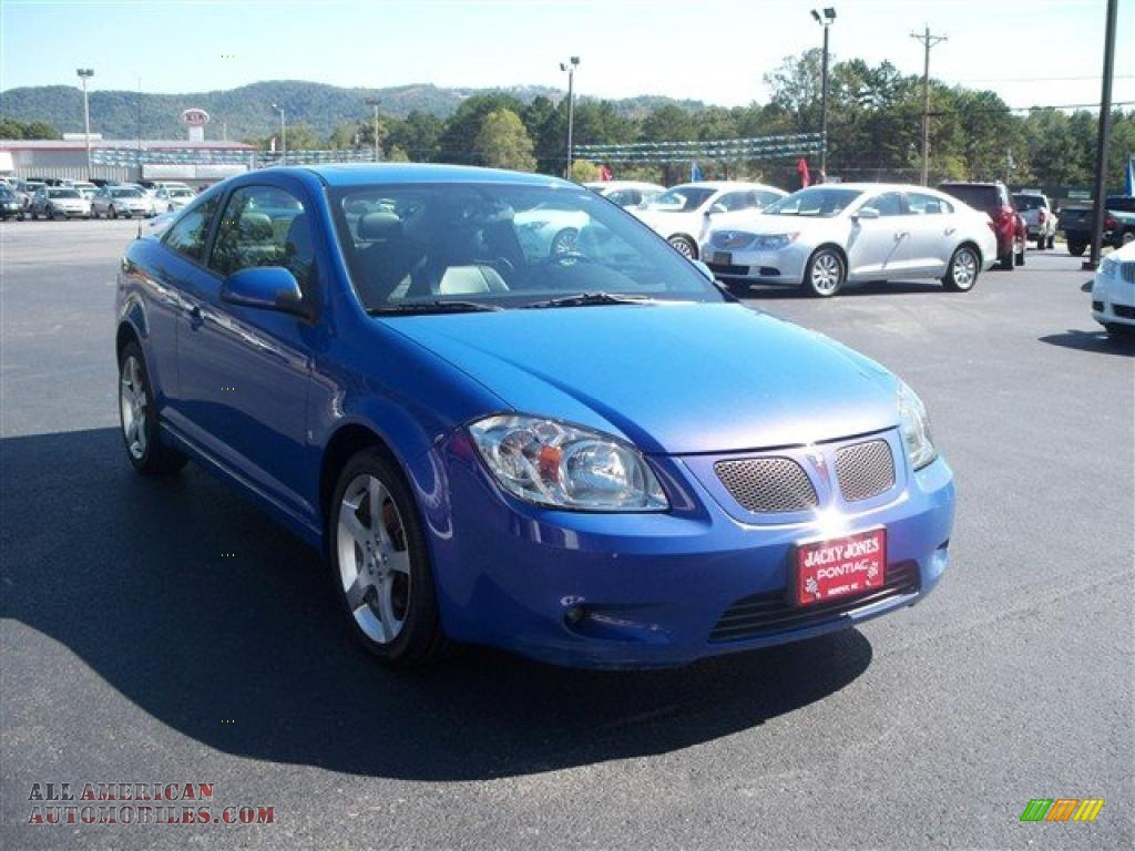 2008 pontiac g5 gt in nitrous blue metallic photo 4. Black Bedroom Furniture Sets. Home Design Ideas