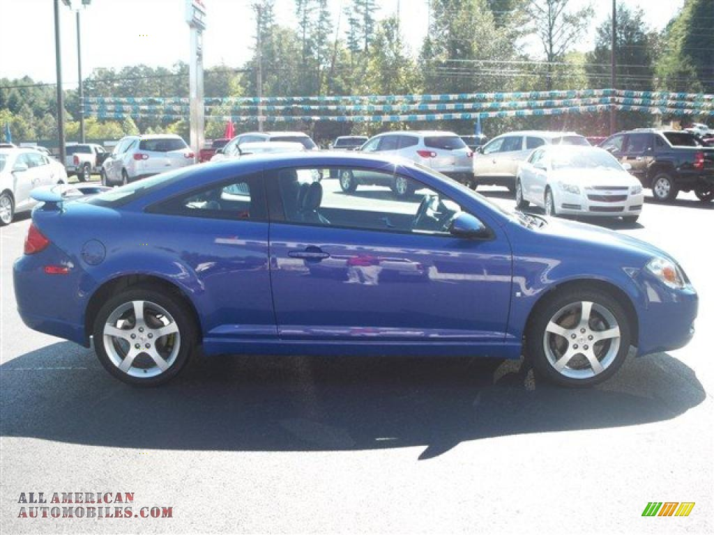 2008 pontiac g5 gt in nitrous blue metallic photo 5. Black Bedroom Furniture Sets. Home Design Ideas
