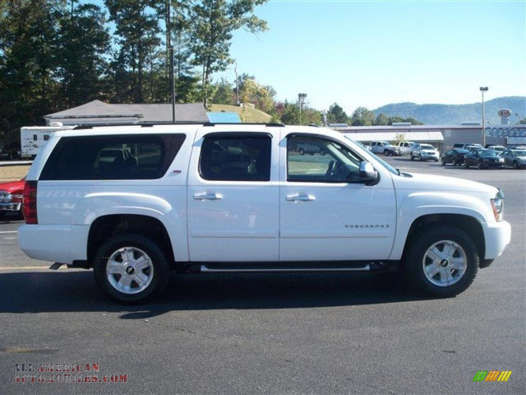 2007 chevrolet suburban 1500 z71 4x4 in summit white photo. Black Bedroom Furniture Sets. Home Design Ideas