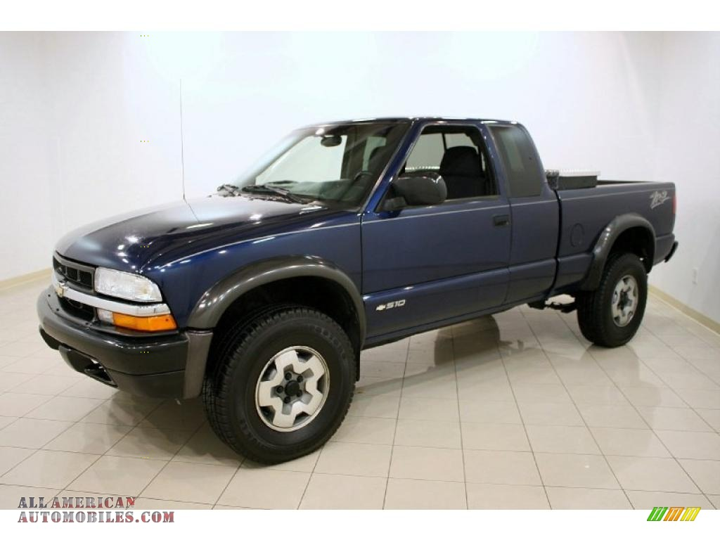 2003 chevrolet s10 zr2 extended cab 4x4 in indigo blue metallic photo 3 124219 all american. Black Bedroom Furniture Sets. Home Design Ideas