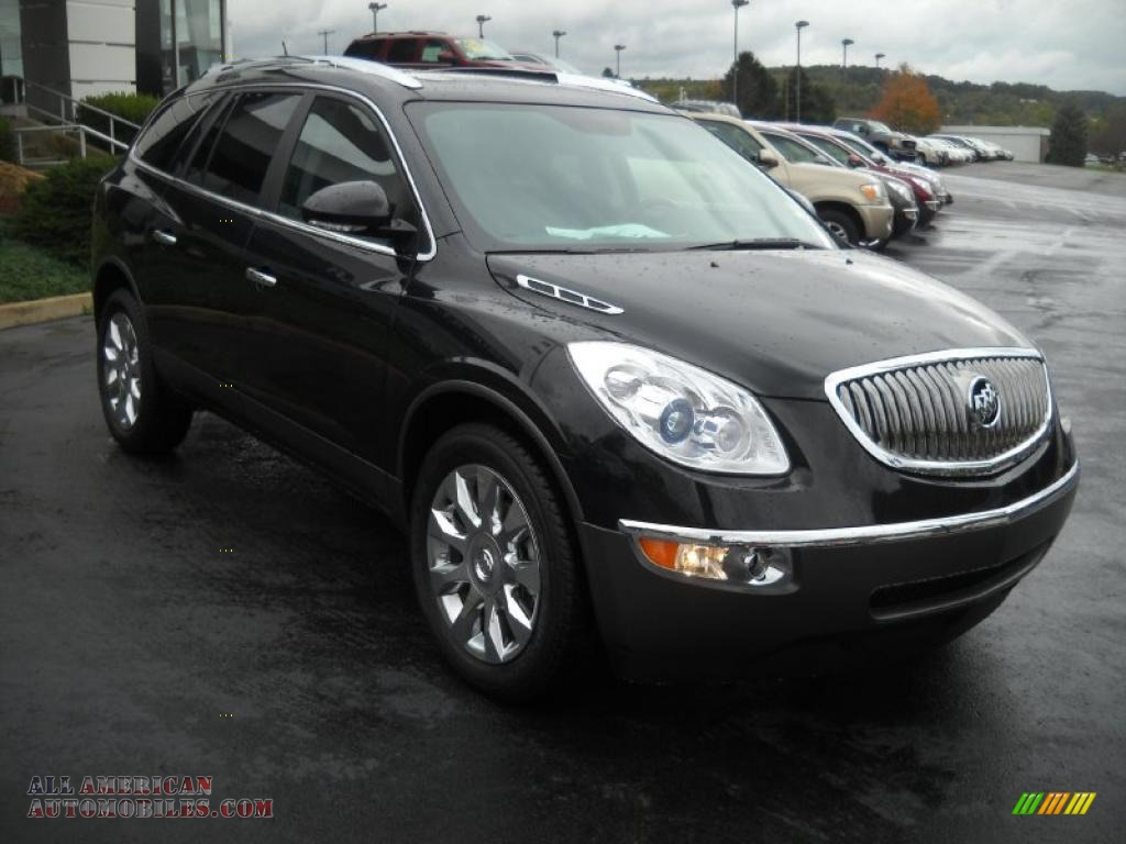 2011 buick enclave cxl awd in carbon black metallic photo. Black Bedroom Furniture Sets. Home Design Ideas