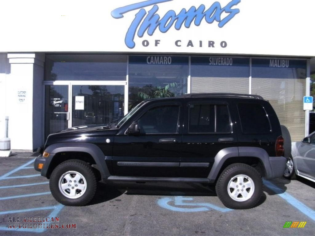All Types liberty crd : 2006 Jeep Liberty CRD Sport 4x4 in Black photo #7 - 208632 | All ...