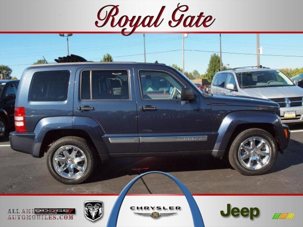 2008 jeep liberty limited 4x4 in modern blue pearl for Royal chrysler motors inc