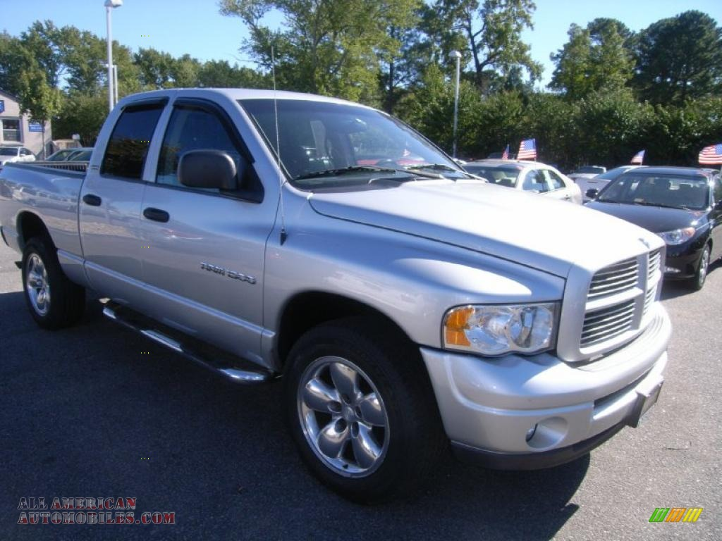 2002 dodge ram 1500 sport quad cab 4x4 in bright silver metallic photo 7 226023 all. Black Bedroom Furniture Sets. Home Design Ideas
