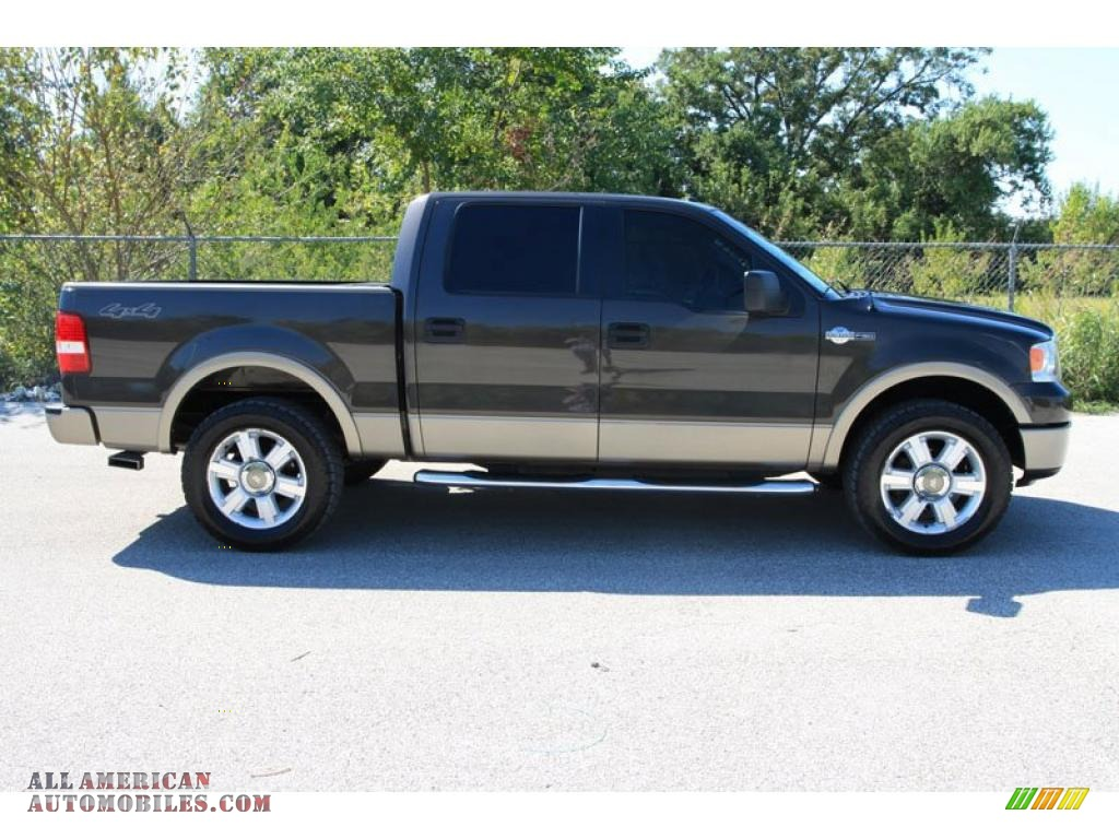 2006 ford f150 king ranch supercrew 4x4 in dark stone metallic photo 2 d38957 all american. Black Bedroom Furniture Sets. Home Design Ideas