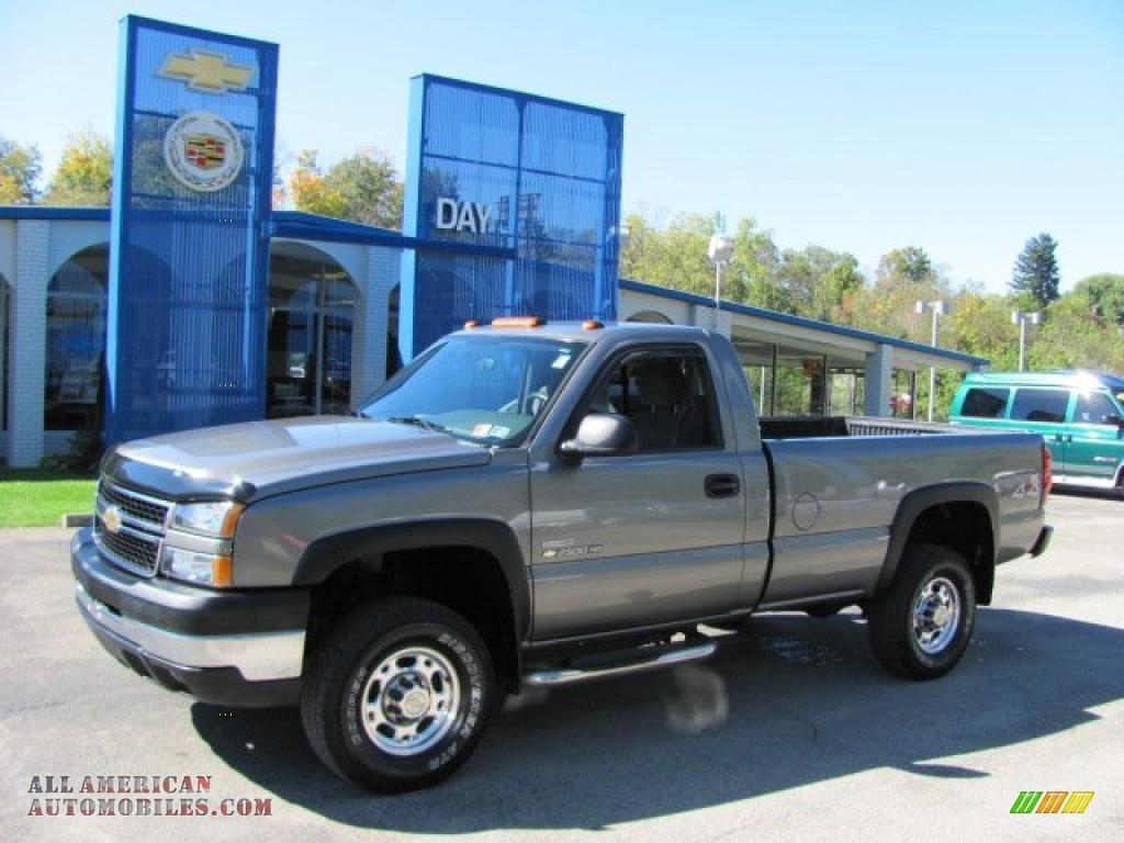 2006 Chevrolet Silverado 2500hd Work Truck Regular Cab 4x4