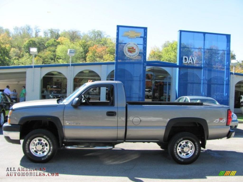 2003 Chevrolet Silverado 2500hd Work Truck 4x2 Regular Cab