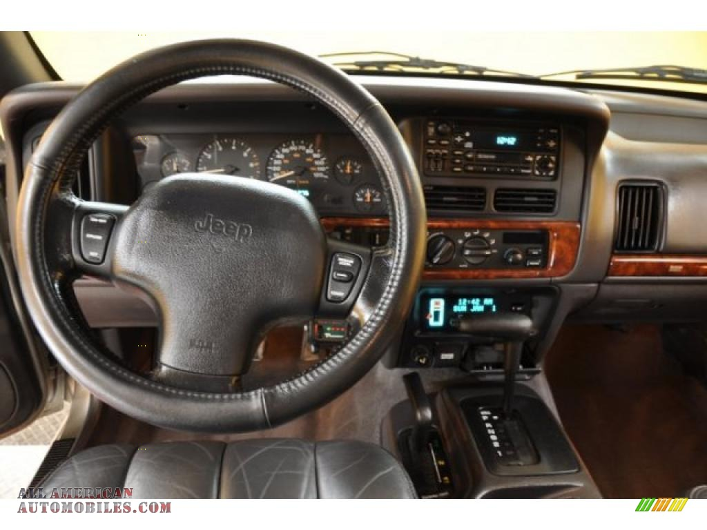 1998 Jeep Grand Cherokee Limited 4x4 in Bright Platinum ...