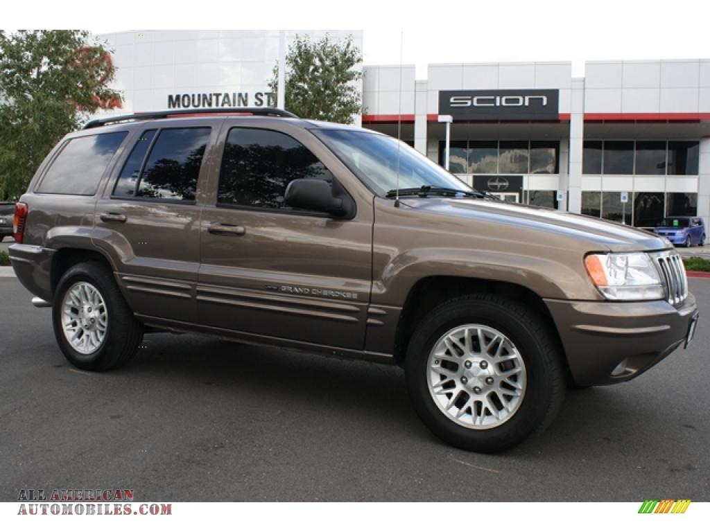 2002 jeep grand cherokee limited 4x4 in woodland brown satin glow. Cars Review. Best American Auto & Cars Review