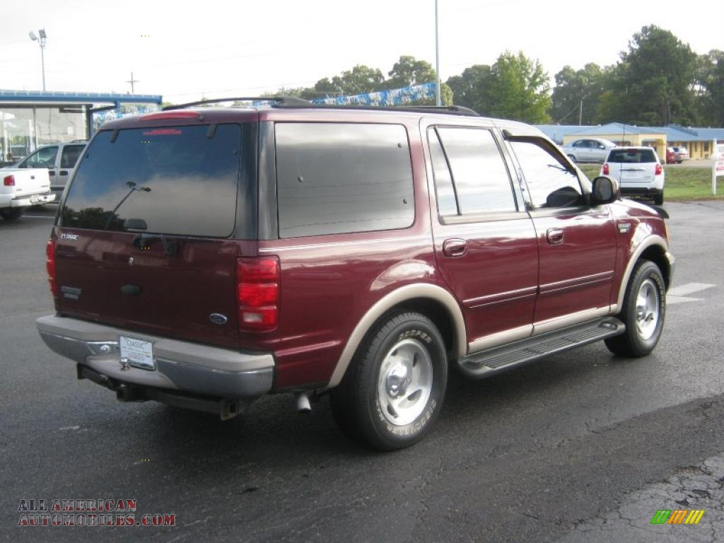 1999 ford expedition eddie bauer 4x4 in dark toreador red metallic photo 5 a16799 all. Black Bedroom Furniture Sets. Home Design Ideas