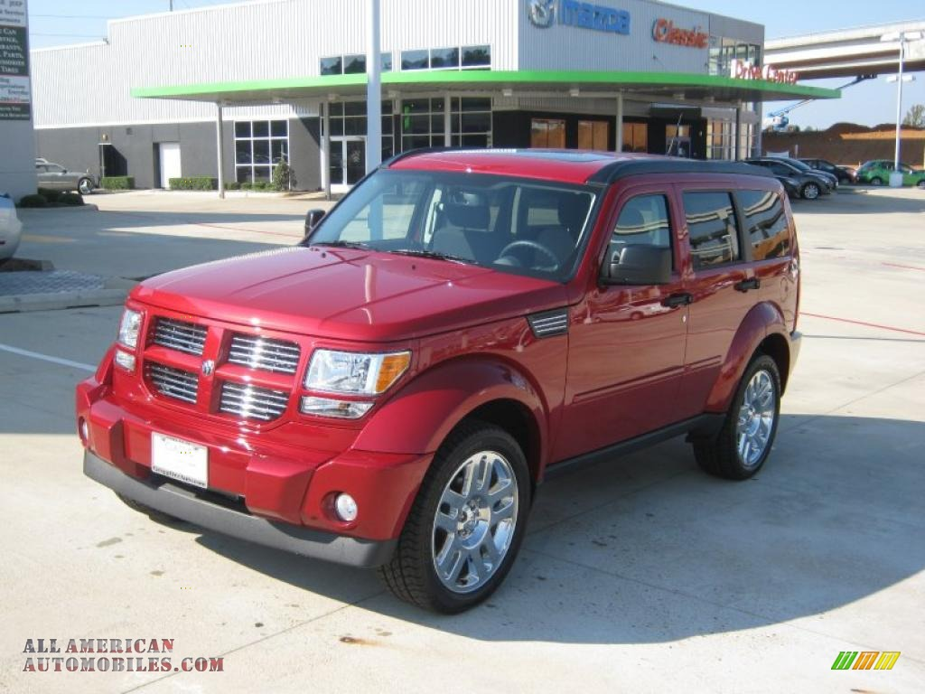 2011 dodge nitro heat 4 0 in inferno red crystal pearl 500275 all american automobiles buy. Black Bedroom Furniture Sets. Home Design Ideas