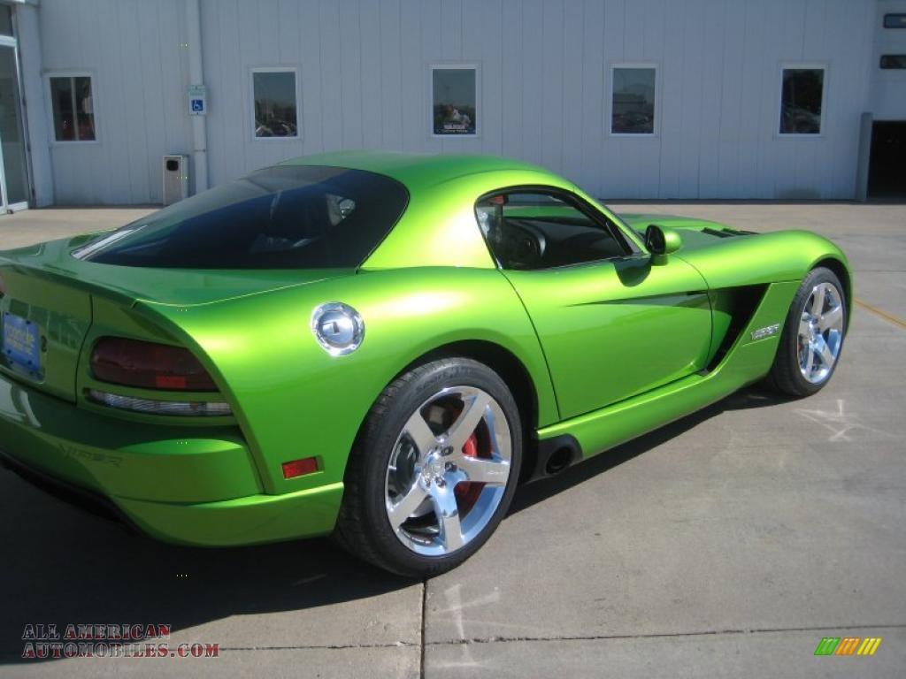 2010 Dodge Viper Srt10 Coupe In Viper Snakeskin Green