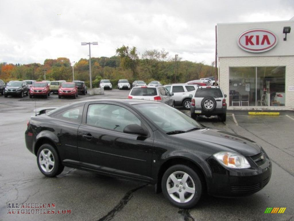 2007 chevrolet cobalt ls coupe in black 111799 all american automobiles buy american cars