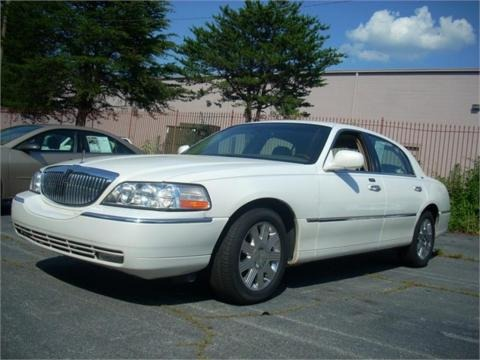 2003 Lincoln Town Car. 2003 Lincoln Town Car Cartier