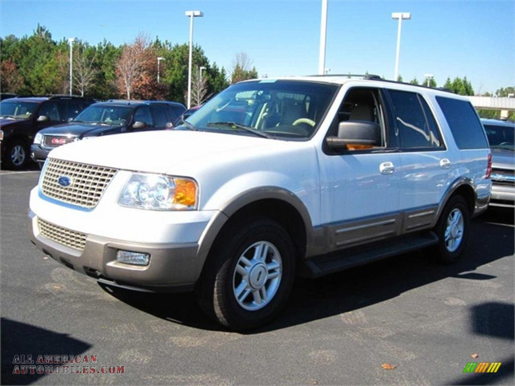 2003 ford expedition eddie bauer in oxford white a59702 all. Cars Review. Best American Auto & Cars Review