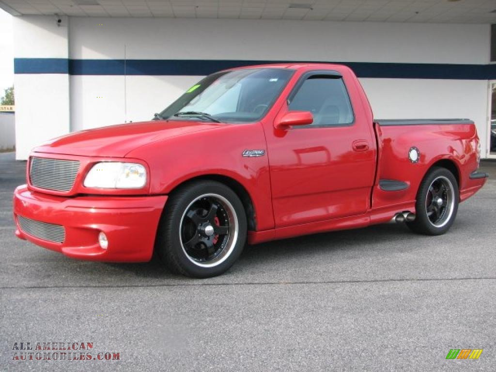 1999 ford f150 svt lightning in bright red photo 11 a84471 all american automobiles buy. Black Bedroom Furniture Sets. Home Design Ideas