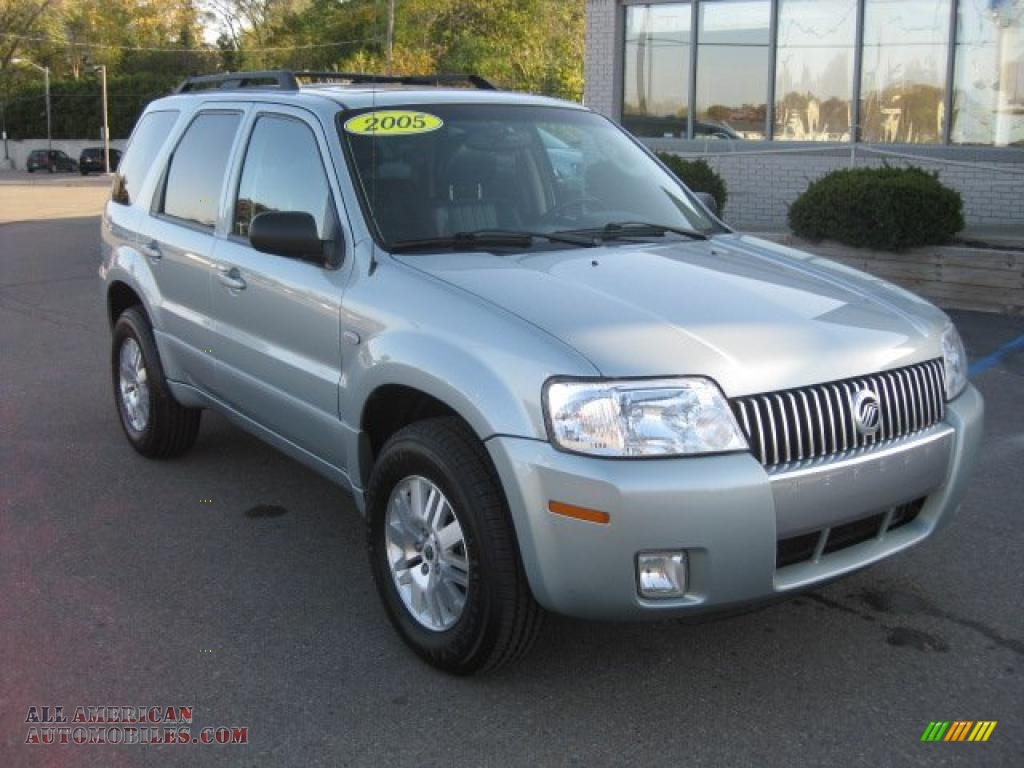 2005 mercury mariner v6 premier 4wd in satellite silver. Black Bedroom Furniture Sets. Home Design Ideas