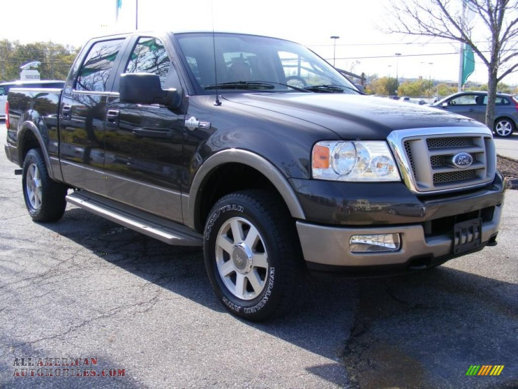 2005 ford f150 king ranch supercrew 4x4 in dark stone. Black Bedroom Furniture Sets. Home Design Ideas