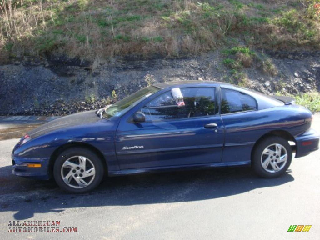 2001 Pontiac Sunfire SE Coupe in Indigo Blue - 348389 | All American ...