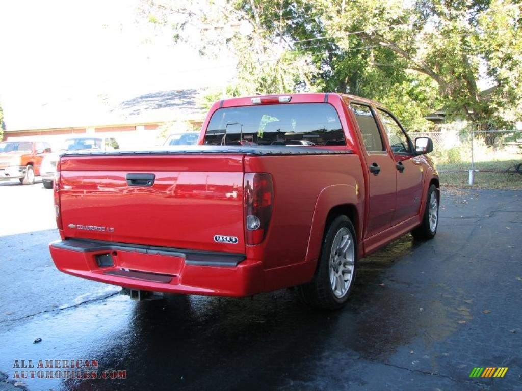 2005 chevrolet colorado xtreme crew cab in victory red photo 5 198437 all american. Black Bedroom Furniture Sets. Home Design Ideas